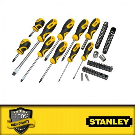 Stanley 9 db-os metrikus imbuszkulcs készlet