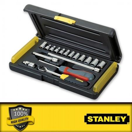 """Stanley 1/2\"""" és 1/4\"""" Mikroracsnis dugókulcs készlet"""