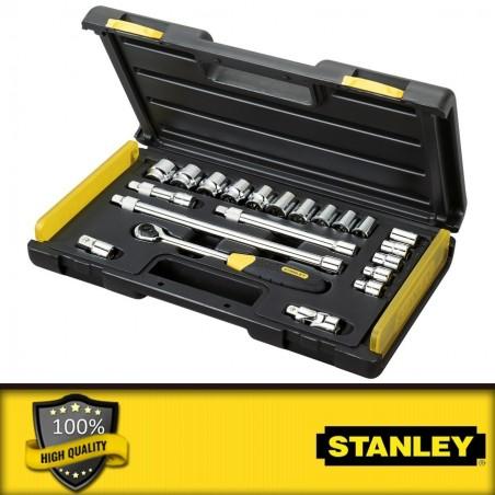"""Stanley 1/2\"""" és 3/8\"""" Mikroracsnis dugókulcs készlet"""
