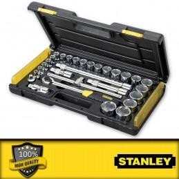"""Stanley 18 részes 1/4\"""" Mikroracsnis dugókulcs készlet"""