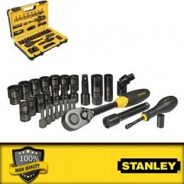 """Stanley 1/4\"""" és 3/8\"""" metrikus dugókulcskészlet"""