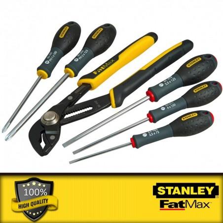 """Stanley 40 részes 1/4\"""" behajtófej készlet 25 mm"""